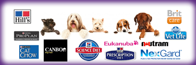 Hills,science diet,prescription diet,eukanuba,nexgard,vetlife,britcare,nutram,canbo,proplan,catchow